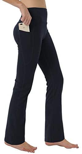 Keolorn Women's Bootleg Yoga Pants