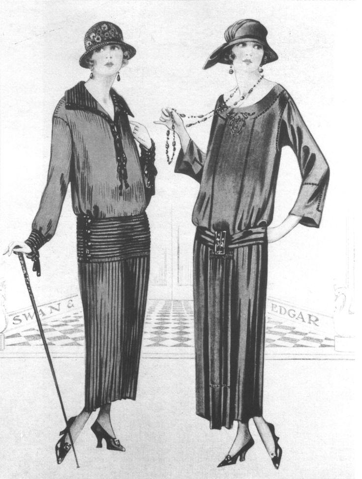 vetements femme année 1920