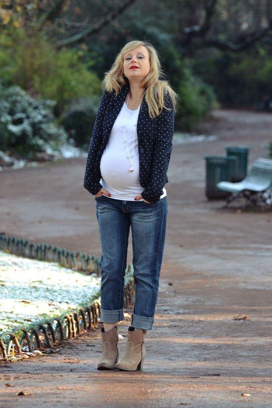 Collection Mode: 17+ Idées tenue femme enceinte hiver ...