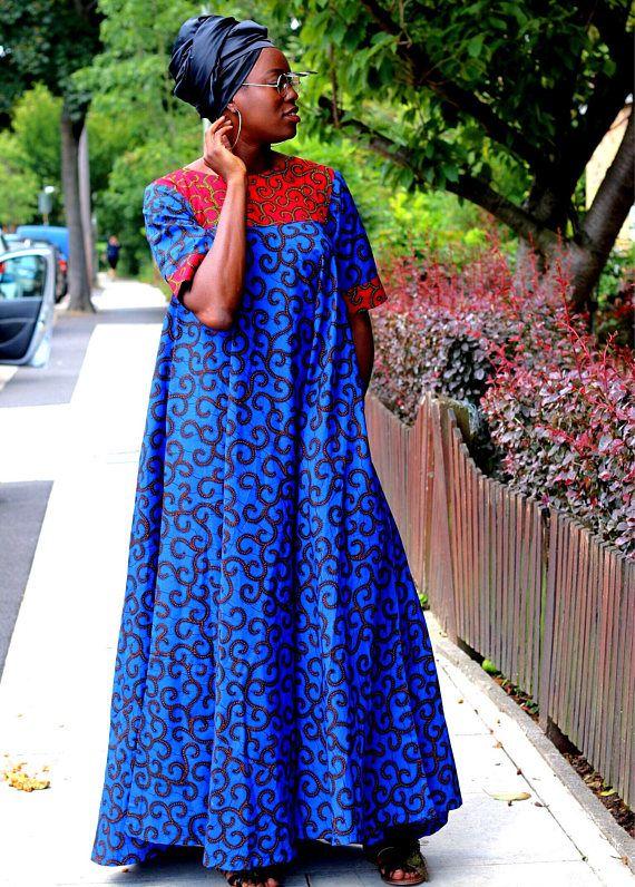 Top Mode: 17+ Idées robe en pagne wax pour femme enceinte ...