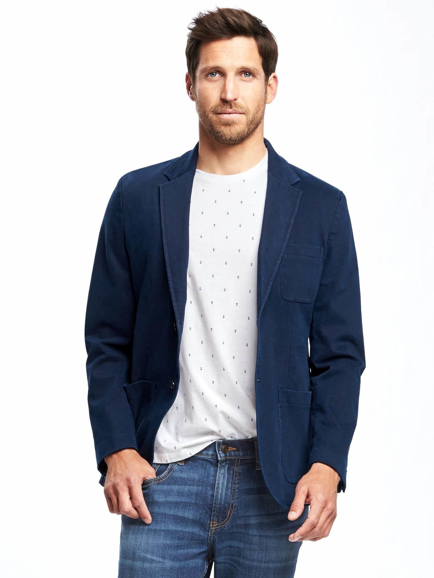 Liste Tendances: 20+ Idées blue blazer with white t shirt