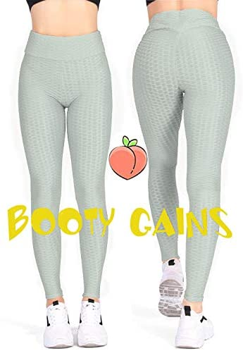 Kamots Beauty Butt Lifting Leggings High Waisted Women Cellulite Stretchy Workout Yoga Pants