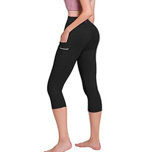 ODODOS Dual Pocket High Waist Workout Pants & Capris