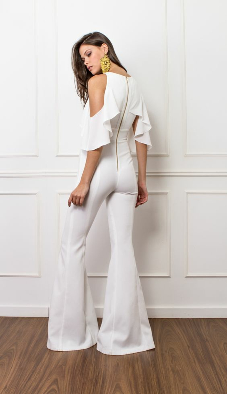 tenue pantalon chic mariage femme
