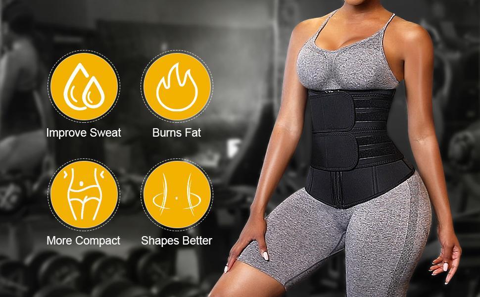 improve sweat waist trainer
