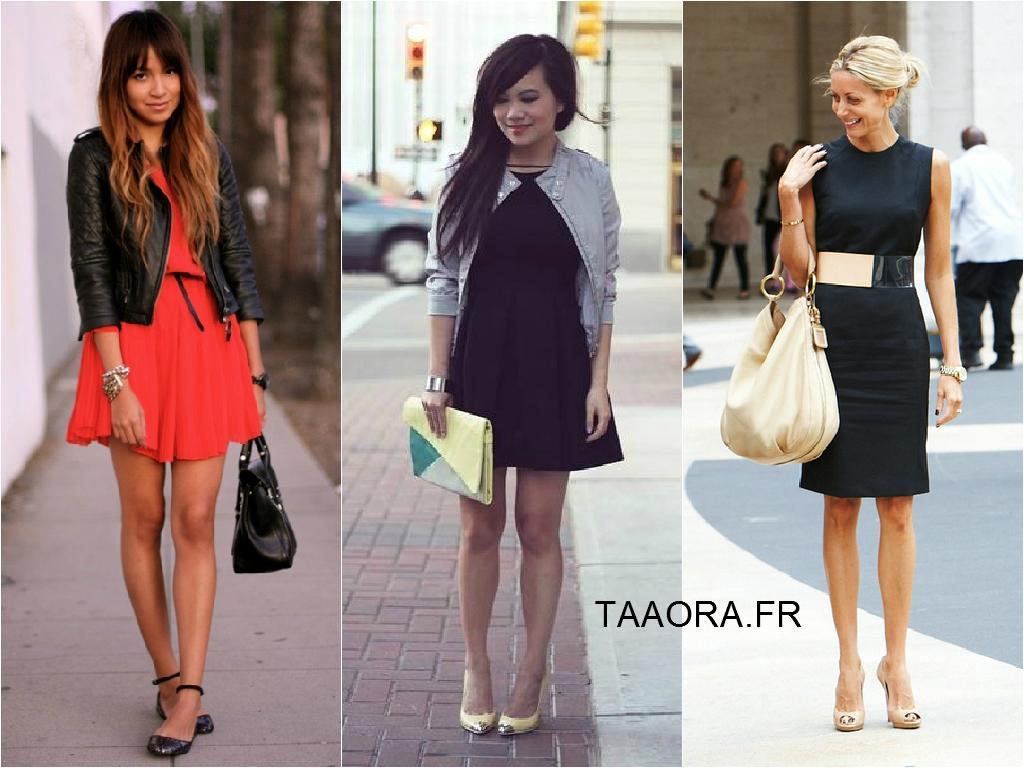 Quelle veste avec une robe longue noir ?