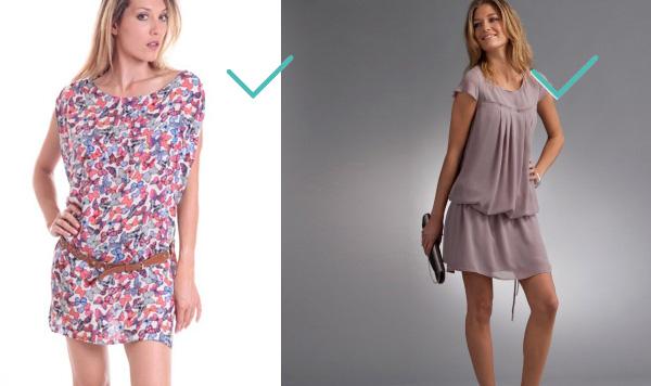Quel type de robe quand on a du ventre ?