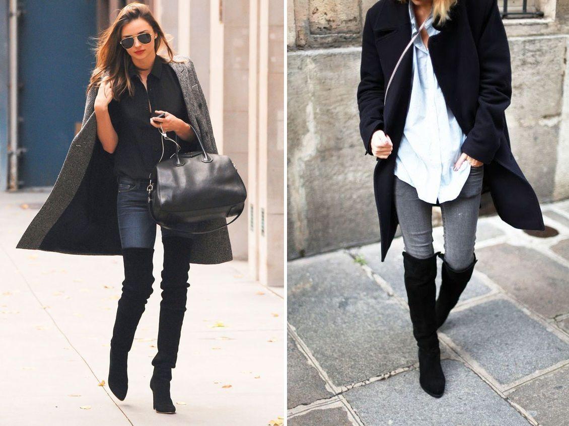 Comment porter des cuissardes noires ?