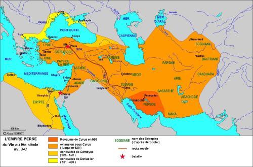 Où se trouve la Perse antique ?