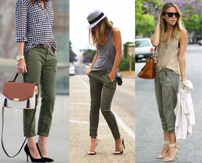 Quelle couleur associer avec un pantalon beige femme ?