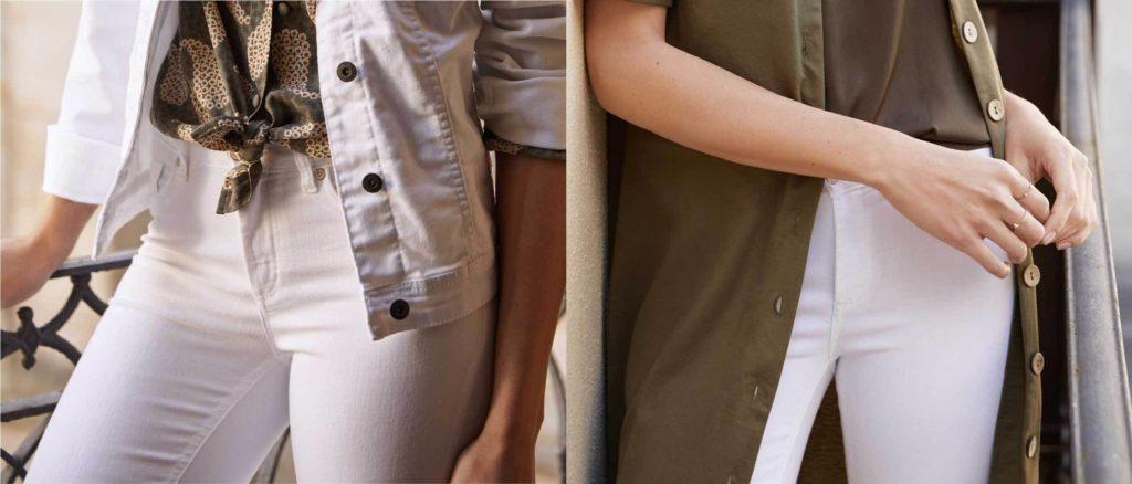 Quelle tenue avec pantalon beige ?
