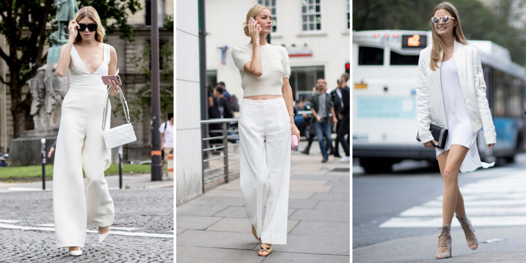 Comment faire un total look blanc ?