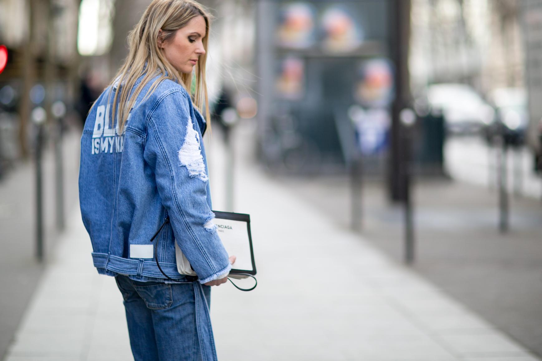 Comment porter la veste en jean ?